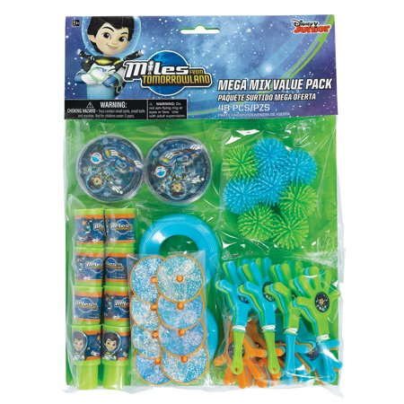 Miles from Tomorrowland 48 Pc Mega Mix Value Pack - Party Supplies ()