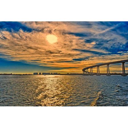 San Diego Coronado Bay Bridge (USA, Ca, San Diego Coronado Bay Bridge Print Wall Art By Rona Schwarz)