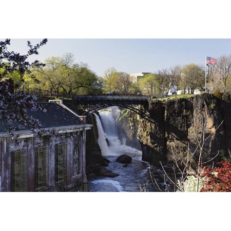 Great Falls of Passaic River, Paterson, NJ Print Wall Art By George Oze](West Paterson Nj)