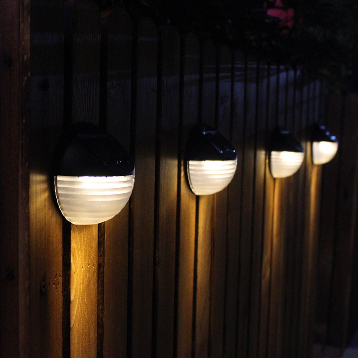 Hot Fashion 6leds Solar Light Solar Charging Lamp For Garden Lamp Yard Light Fence Light Outdoor Light Walmart Canada