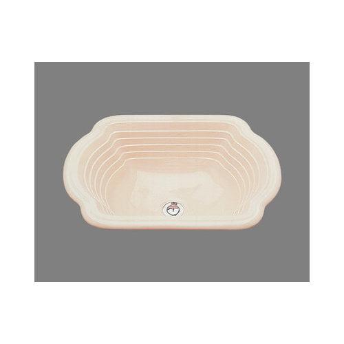 Bates & Bates Ceramics Diana Drop In Bathroom Sink