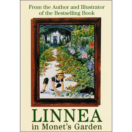 Linnea In Monet's Garden (Full Frame)
