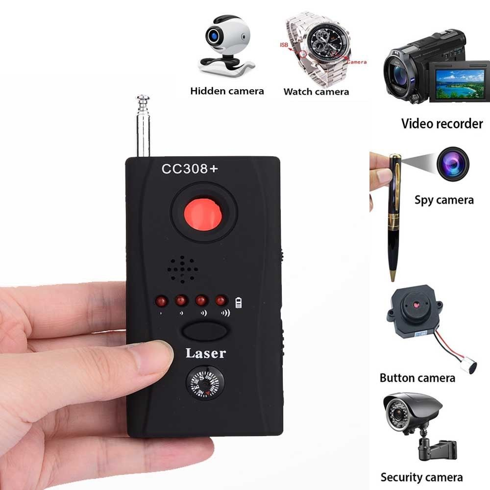 CC308+ Anti Undercover Wireless GPS Signal Detector Scanner Device Audio Finder For