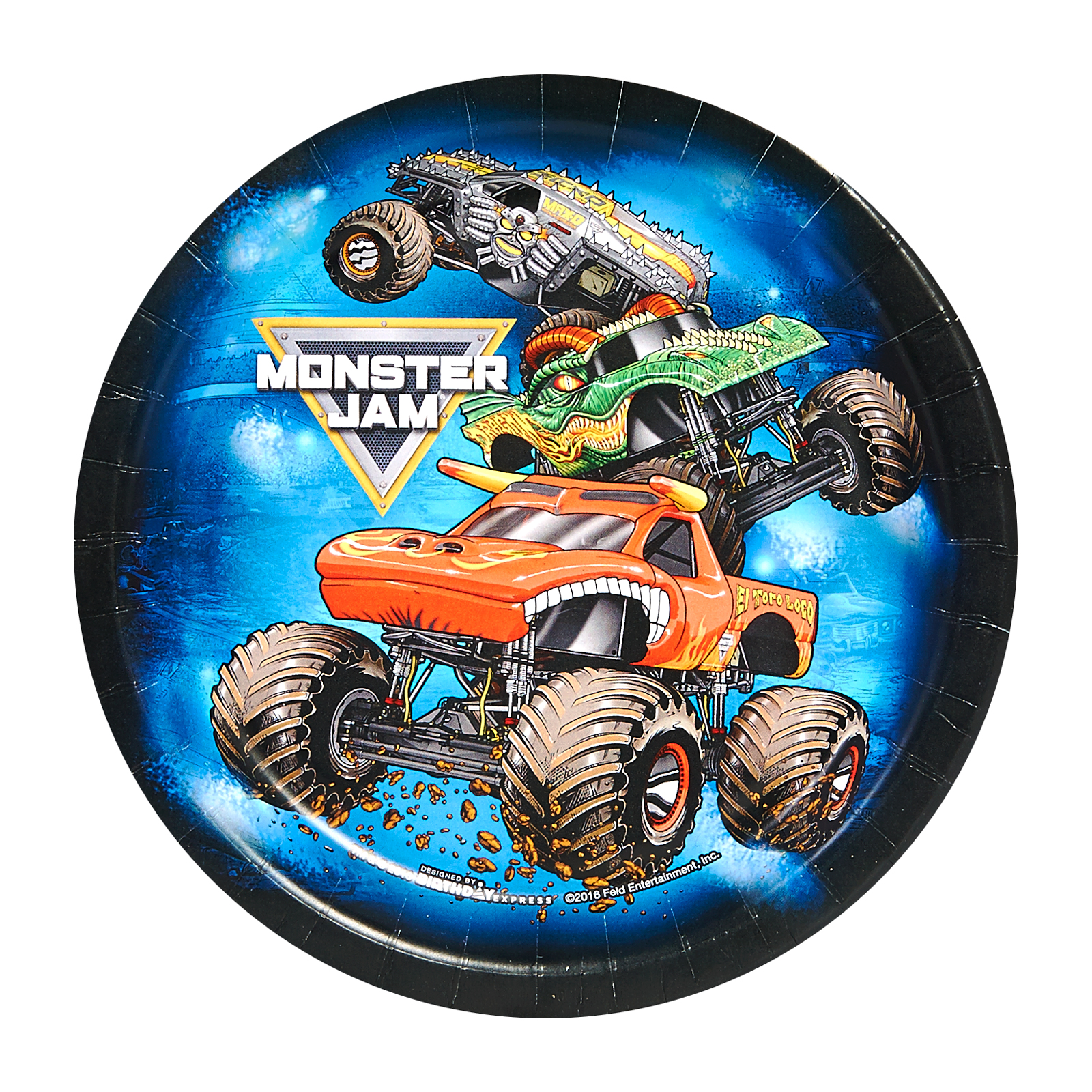 Monster Jam Party Supplies 32 Pack Dessert Plates