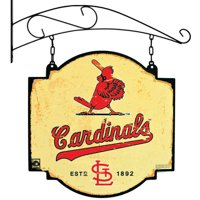 "St. Louis Cardinals 16"" x 16"" Tavern Sign - Cream"