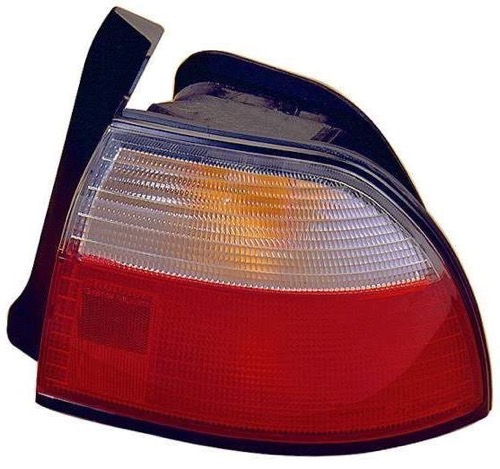 Go-Parts » 1996 - 1997 Honda Accord Rear Tail Light Lamp Assembly / Lens / Cover - Right (Passenger) Side - (4 Door; Sedan + 2 Door; Coupe) 33501-SV4-A03 HO2801119 Replacement For Honda Accord