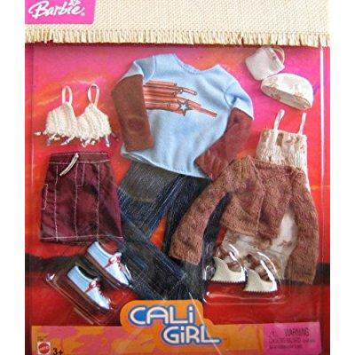 Barbie Cali Girl - barbie cali girl ken & barbie fashion clothes (2004)