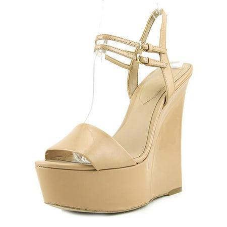 6203616ce4f2 Aldo - Aldo Aliane Women Open Toe Suede Nude Wedge Heel - Walmart.com