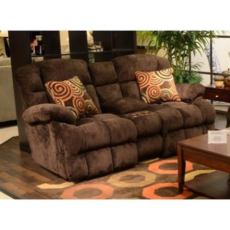 Enjoyable Catnapper Concord Power Layflat Reclining Console Loveseat In Mahogany Ocoug Best Dining Table And Chair Ideas Images Ocougorg