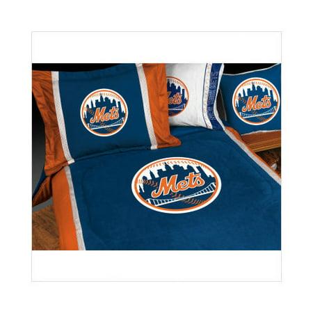 . Bundle 30 Sports Coverage New York Mets Bedding Series   Walmart com