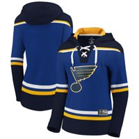 St. Louis Blues Fanatics Branded Women's Franchise Pullover Hoodie - Blue