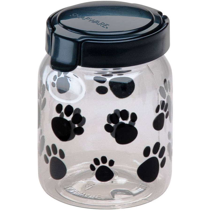 Snapware Airtight Food Storage 4.2-Cup Pet Treat Canister