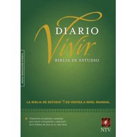Biblia de estudio del diario vivir NTV (Letra Roja, Tapa dura, Verde)