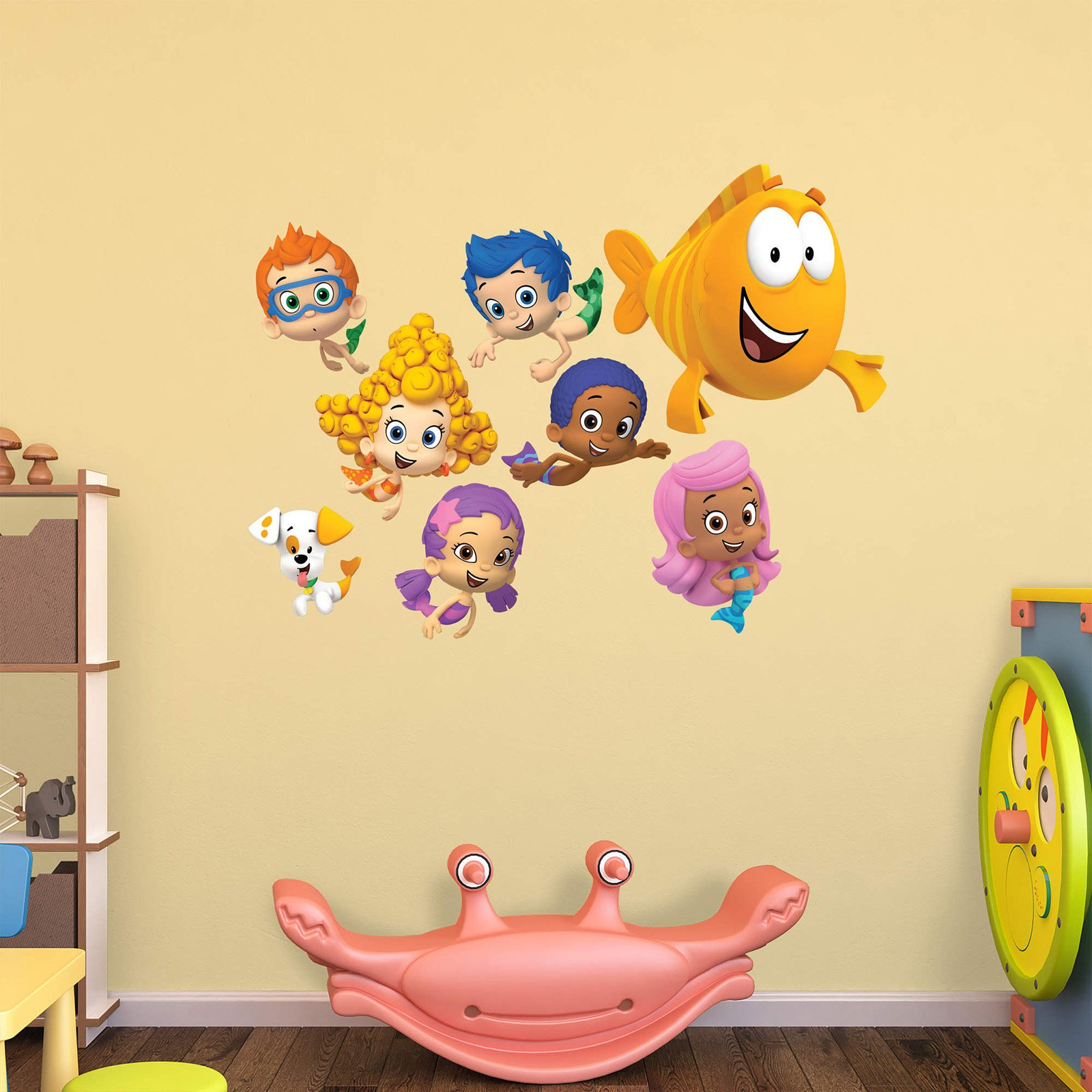 Fathead Nickelodeon Bubble Guppies Wall Decal Collection