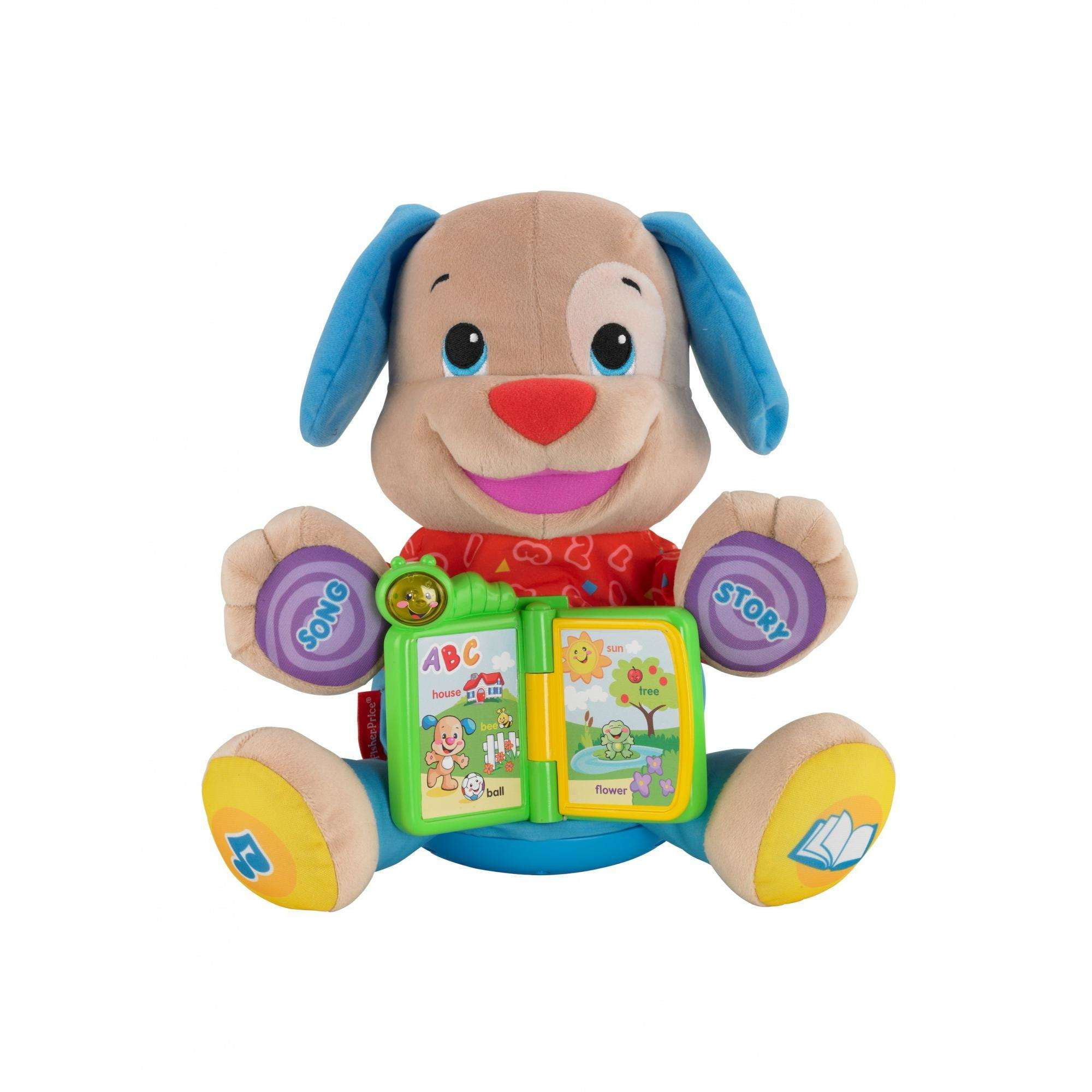Fisher Price Laugh & Learn Singin Storytime Puppy by Fisher-Price