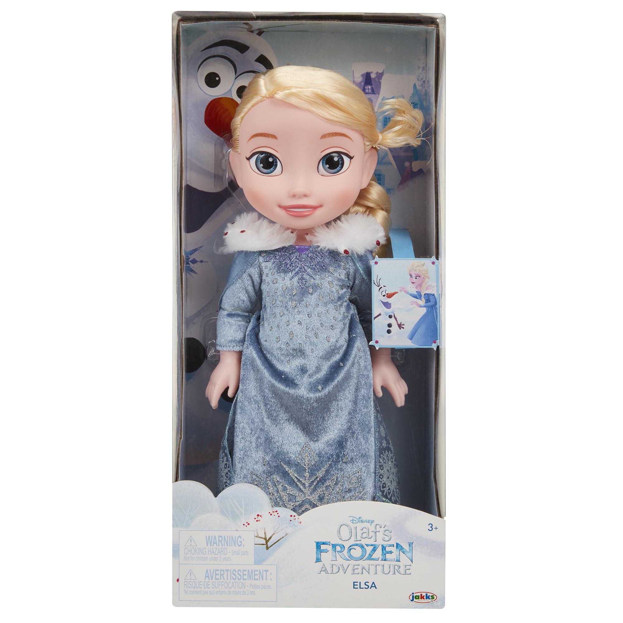 Disney Frozen Olafs Frozen Adventure Elsa Doll by Jakks Pacific