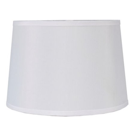 better homes and gardens drum lamp shade white