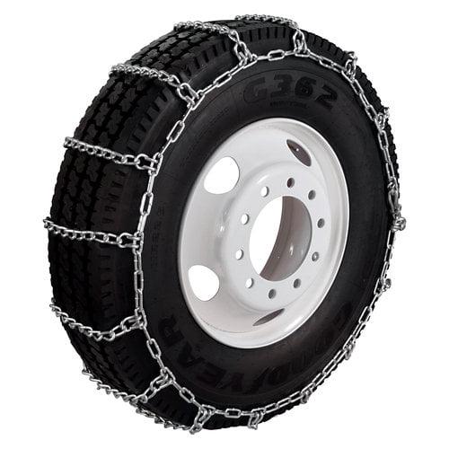 TireChain.com 165//80-14 165 80-14 A1022 Diagonal Cable Tire Chains Set of 2 A1022-9