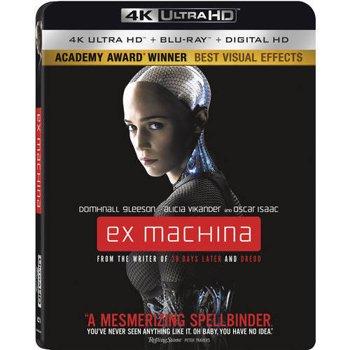 Ex Machina on Blu-ray + 4K + Digital