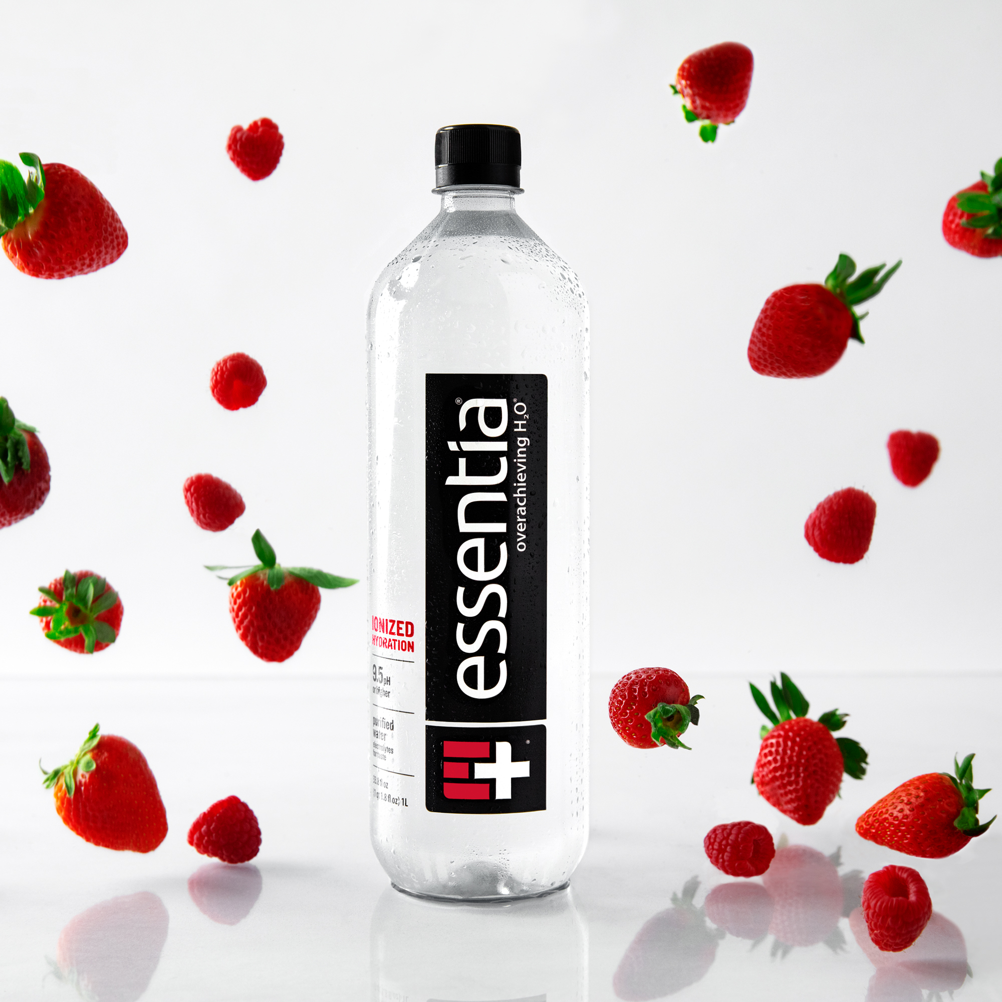 f4ebe8b49a Essentia Water; 1 Liter Bottle; Ionized Alkaline Bottled Water;  Electrolytes for Taste; Better Rehydration*; pH 9.5 or Higher; Pure  Drinking Water; ...
