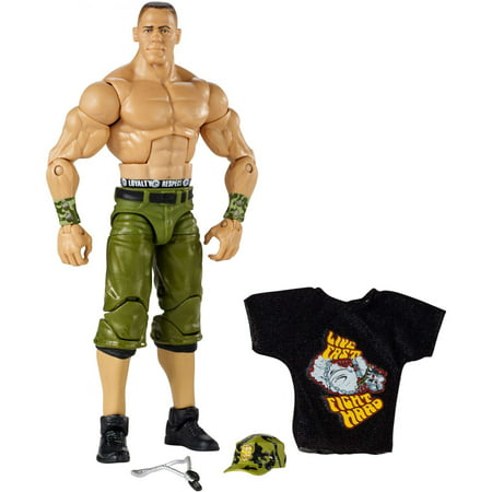 WWE Wrestlemania John Cena Elite Action Figure (Wwe Tlc John Cena Vs Wade Barrett)