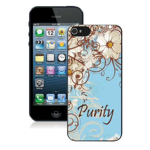 White Flower Purity iPhone 5 Case