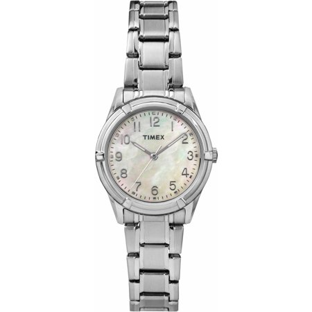 Timex Womens Easton Avenue Watch  Silver Tone Stainless Steel Bracelet