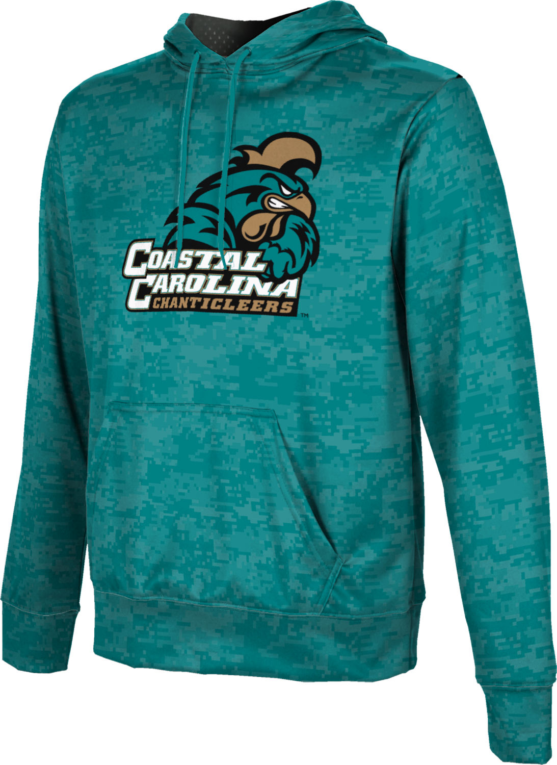 ProSphere Boys' Coastal Carolina University Digital Pullover Hoodie