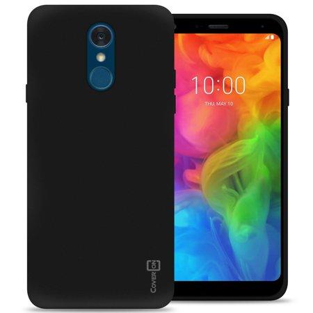 pretty nice 20808 89c2a CoverON LG Q7 / Q7 Plus / Q7 Alpha Case, FlexGuard Series Soft Flexible  Slim Fit TPU Phone Cover