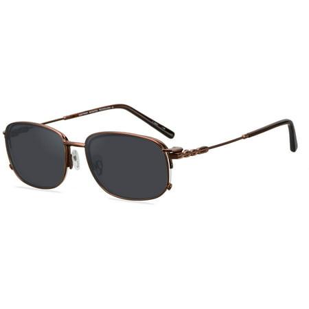 EasyTwist Mens Prescription Glasses, CT198 Brown