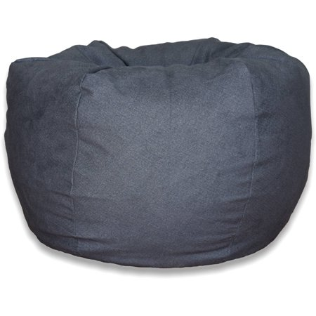 Extra Large Brushed Denim Bean Bag Available In Multiple Colors