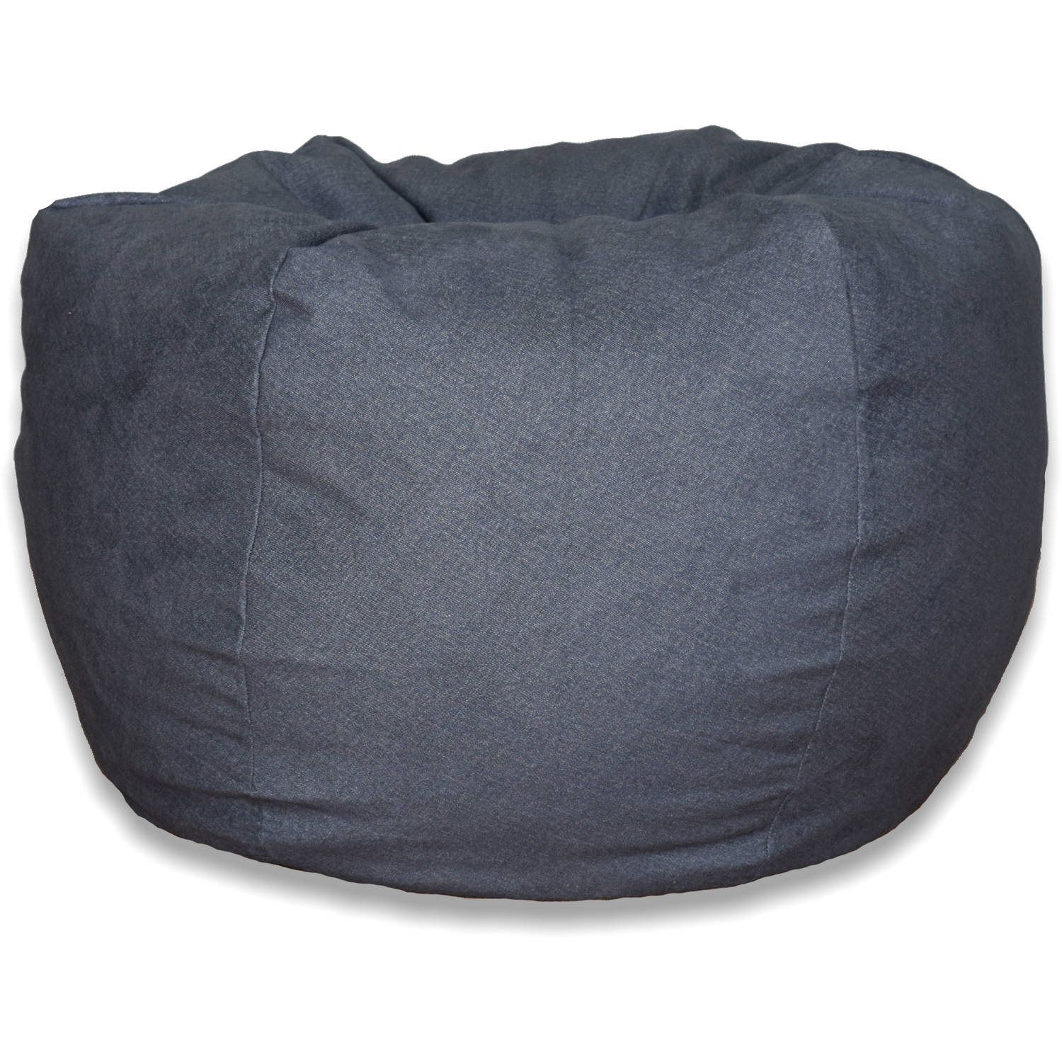 Extra Large Brushed Denim Bean Bag, Available In Multiple Colors