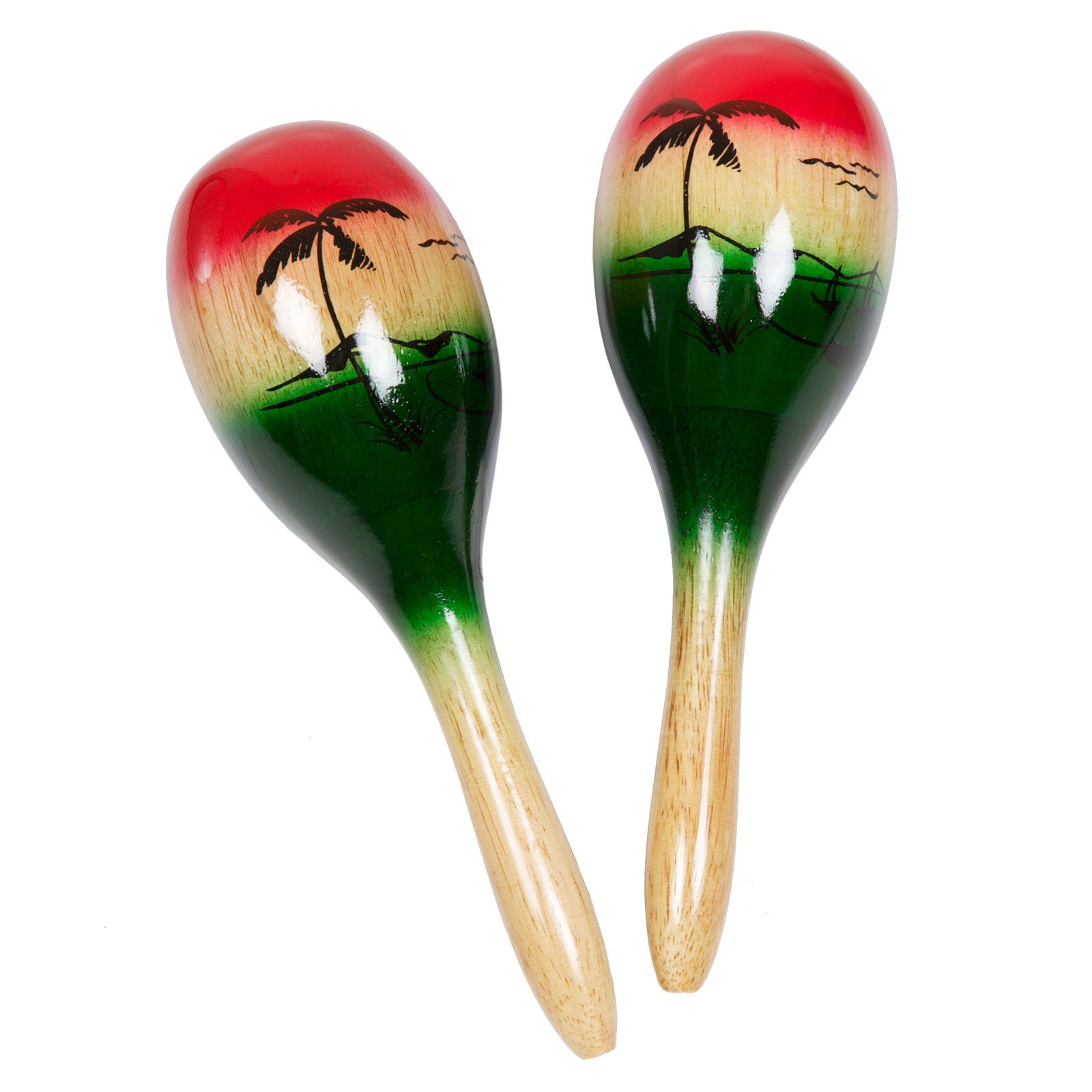 X8 Drums Tropical Wood Maracas