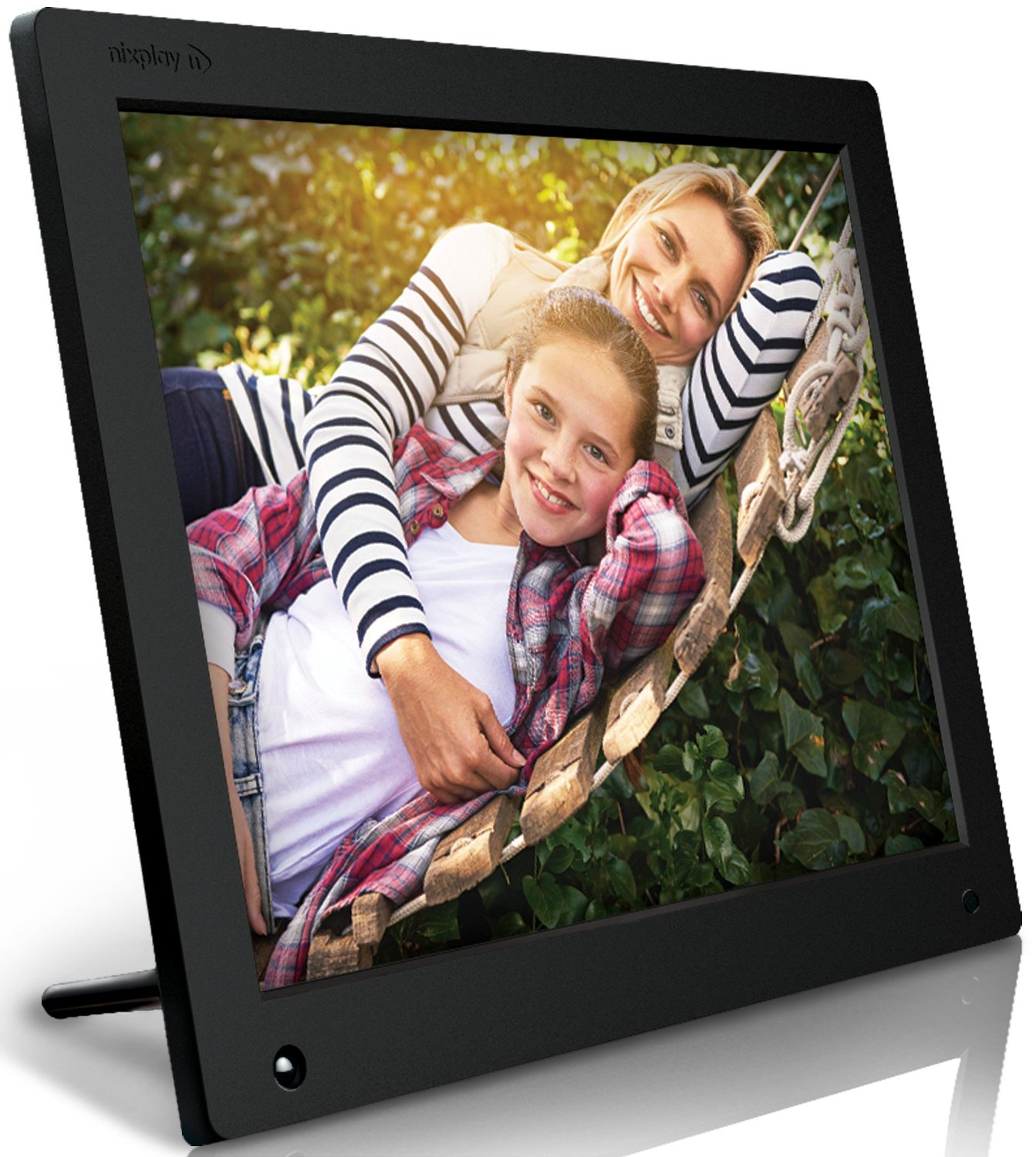 Nixplay Original 15 inch WiFi Cloud Digital Photo Frame. iPhone ...