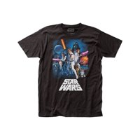 Star Wars Movie New Hope Poster Graphic Adult Short Sleeve T-Shirt Tee