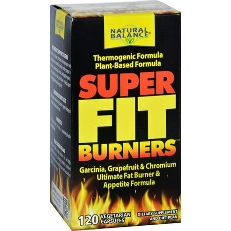 Natural Balance Fit - Burners super 120 Vegetarian Capsules