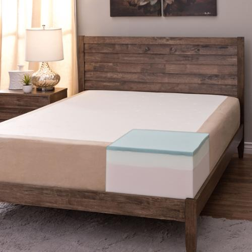 Comfort Dreams Select-A-Firmness 11-inch California King-size Memory Foam Mattress Firm