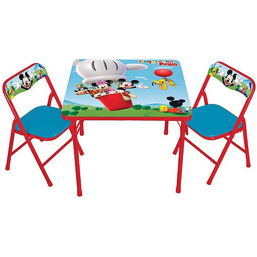 Disney Mickey Mouse's Playground Pals Activity Table Set