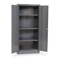 EDSAL 1UFD5 Storage Cabinet,Gray,66 In H,30 In W