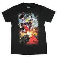 Marvel X-Men Men's Fighting A Common Enemy Fade Away T-Shirt