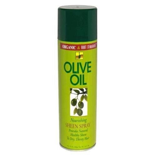 DDI Organic Root Stimulator Olive Oil Nourishing Sheen Spray- Case of 12