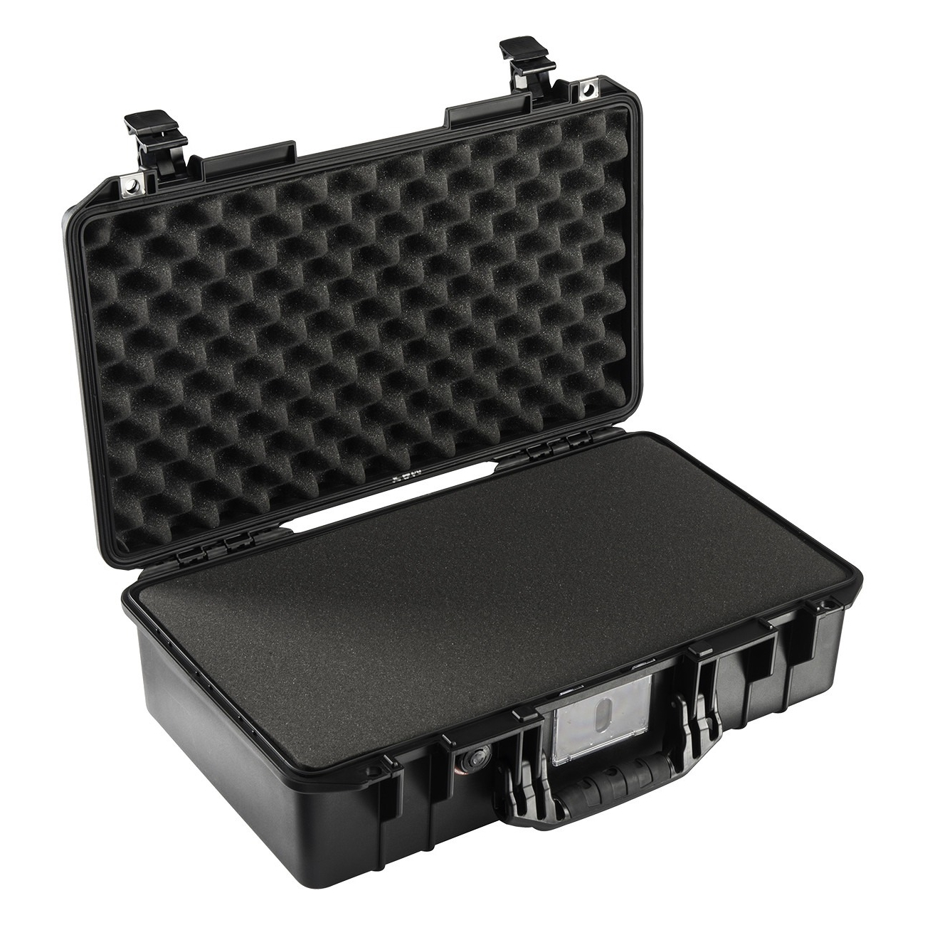 Pelican 1525AirTP Carry-On Case with Pick-N-Pluck Foam (015250-0000-110), Black