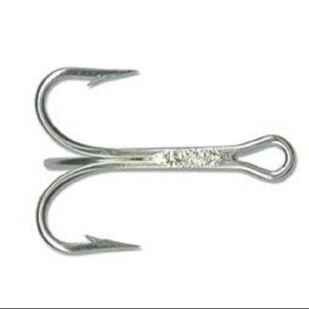 Mustad 3561ed4 0 25 treble hk duratin 3x 4 0 5pk fishing for Fishing hooks walmart