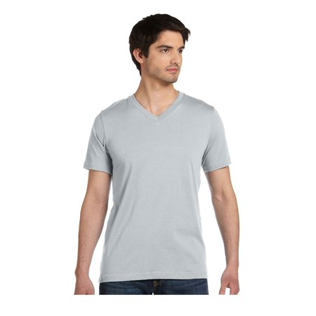 Bella+Canvas Comfortable V-Neck Soft Fitted Jersey T-Shirt, Style C3005 Fitted Jersey Tee T-shirt