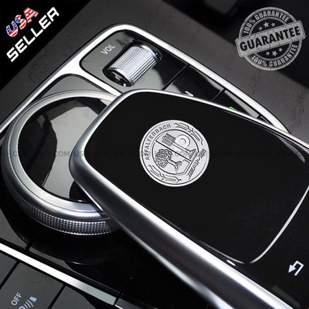 Mercedes-Benz Car 3D AMG Interior Key Emblem Aluminum Decal Sticker Badge Decoration Logo Gift