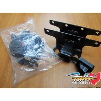 18-19 Jeep Wrangler JL Trailer Tow Hitch Reciever and 7 Way Wiring Kit Mopar OEM