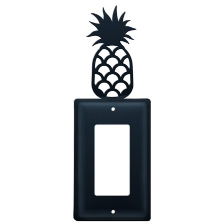 Village Wrought Iron EG-44 Pineapple - Single GFI Cover