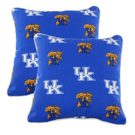 Decorative Pillows For College : College Covers KENODP 16 x 16 in. Kentucky Wildcats Outdoor Decorative Pillow