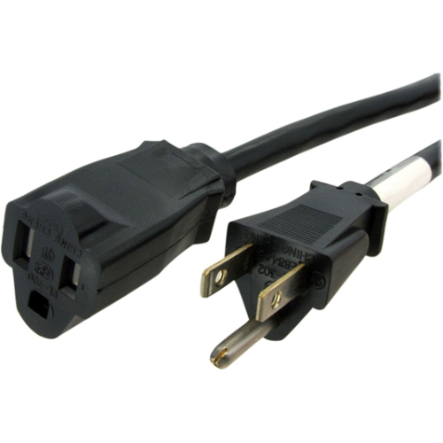 Startech 3' Power Extension Cord, NEMA 5-15R to NEMA 5-15P