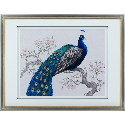 Statements by J Peacock Framed Painting Print